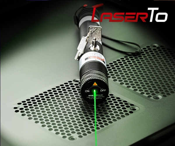 500mW Tartarus Serie Point Réglable Pointeur Laser Vert, 532nm Laser ...