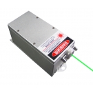 2000mW 532nm Laser DPSS Vert Système